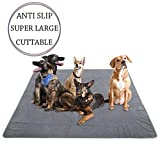 """Yangbaga Newest Extra Large Pee Pads for Dogs, 72.5"""" 72.5"""" Non Slip Dog"""