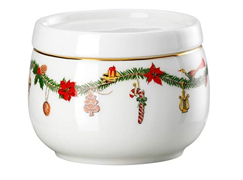 Hutschenreuther - Zuckerdose - Nora - Christmas - Bone China - 150 ml