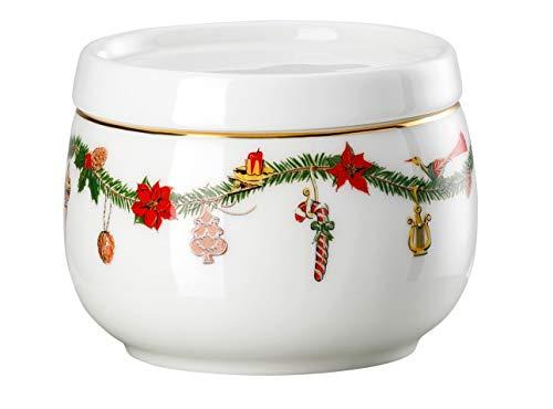 Hutschenreuther - Zuckerdose - Nora - Christmas - Bone China - 150 ml