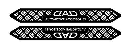 ギャルソン DAD ナイトサインステッカー タイプモノグラム ブラック/ホワイト 2P ST151-01 D.A.D