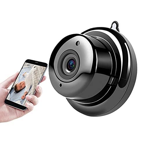 Humidifier Cámara IP, Cámara WiFi Mini Cámara con Infrarrojos Visión Nocturna De 2 Vías Pista De Movimiento De Audio CCTV P2p Seguridad para El Hogar (Tipo De Gancho)