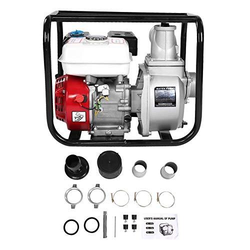Waterpomp - benzine-waterpomp 3-in-benzine-waterpomp, 6,5 pk 7 m, tuin-irrigatie zwembad reinigingspomp
