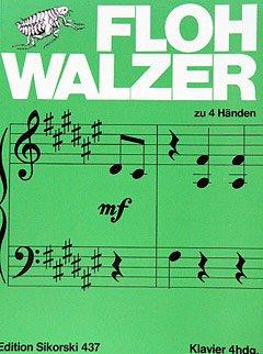 FLOHWALZER - arrangiert für Klavier 4händig [Noten / Sheetmusic] Komponist: LANGE H