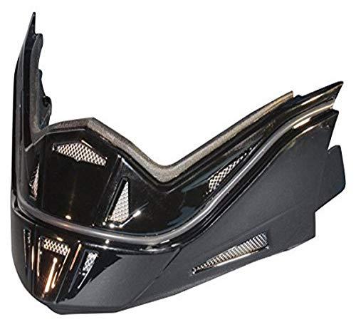 Stealth Phantom Convertible Helmet Replacement Jaw (Gloss Black)