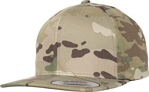 Flexfit Classic Snapback Cap, Multicam, One Size