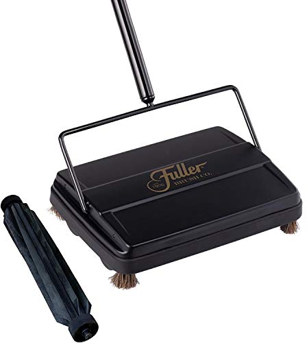 Fuller Brush Electrostatic Carpet & Floor Sweeper with Additional Rubber Rotor - 9