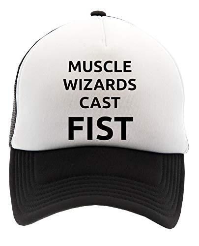 Muscle Wizards Cast Fist Gorra de Béisbol Unisex Hombre Mujer Adulto Ajustable Cap Men's Woman'S Adult Adjustable
