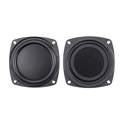 WNJ-TOOL, 2 stücke 3 Zoll 78mm Lautsprecher Kühler Membran Passive Becken Horn Bass Vibration DIY 2 stücke