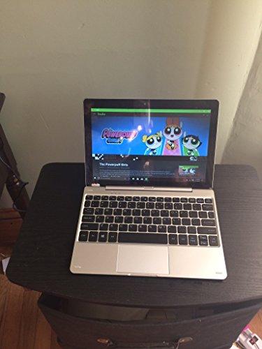 Nextbook 10.1inch Touchscreen Intel Quad Core 32GB Wi-Fi Bluetooth Webcam HDMI Windows 10 Tablet Laptop Combo