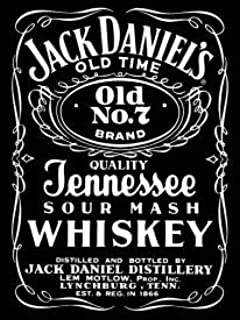 Jack Daniels Whiskey Black Label Tin Sign #H780