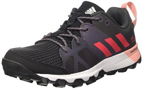 Adidas Kanadia 8 Trail, Damen Laufschuhe, Schwarz (Core Black/Core Pink/Trace Grey), Gr. 37 1/3 (UK 4.5)