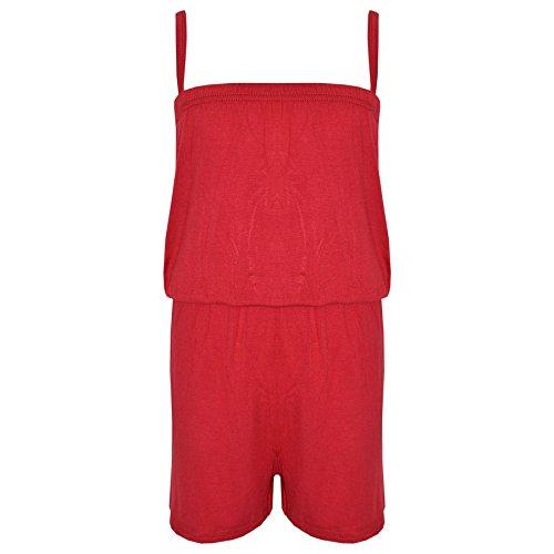 A2Z Jumpsuits voor kinderen, voor meisjes, jumpsuits voor kinderen, eenkleurig, effen -  - 11-12 Ans (146-152)