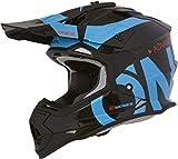 Oneal 2SRS RL Helmet Slick Black/Blue XL (61/62cm) Casco, Adultos Unisex
