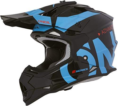 O'NEAL 2SRS Helmet Slick Black/Blue M (57/58cm)
