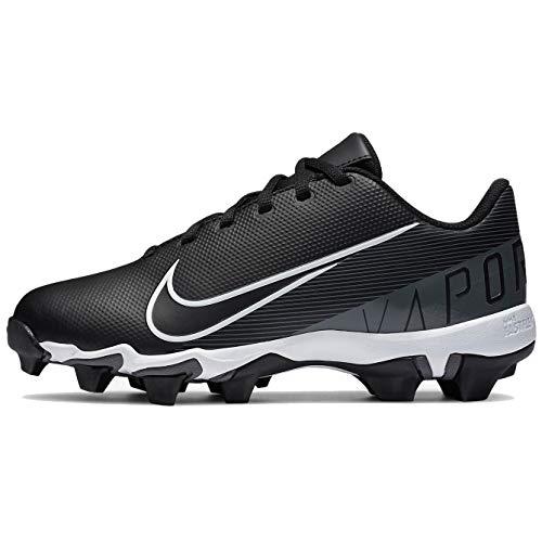 Nike Vapor Ultrafly 3 Keystone Baseball (Toddler/Little Kid/Big Kid) Black/White/Iron Grey 2.5 Little Kid M