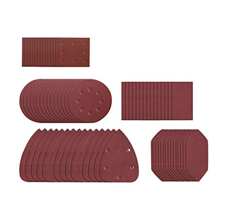 Worx WA2028 Schleifblatt-Set für Multischleifer WX820