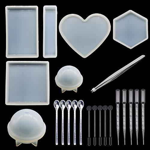 Posacenere in Cristallo Stampo in Resina Epossidica Trasparente Decorazione per La Casa #1 piaceto Stampo Posacenere in Silicone
