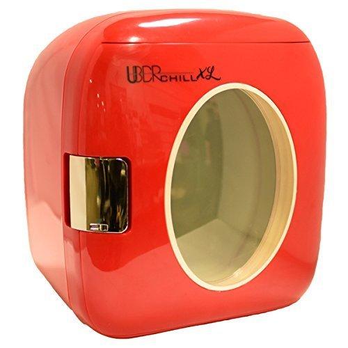 Uber Appliance UB-XL1-RED Mini Fridge, 9L