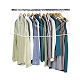 Richards Homewares Clearly Organized/Clear Vinyl Storage Closet Garment Cover, 36'x22'x18' (1-Pack)