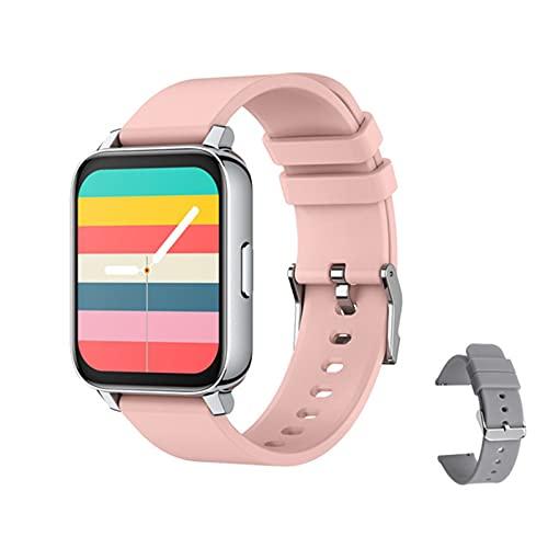 XXH Reloj Inteligente, Damas P36 y Hombres Impermeables, frecuencia cardíaca, presión Arterial, Modo Multi-Deporte, Reloj Bluetooth para Android iOS PK P8 Y20 para Android iOS,G