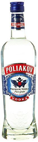 Poliakov Premium Vodka Pur grain triple distillé 70 cl