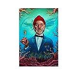 XIAOGANG Poster, Motiv: Life Aquatic Bill Murray,