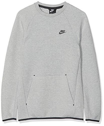 NIKE Sportswear Tech Fleece Sudadera, Hombre, dk Grey Heather/Black, L