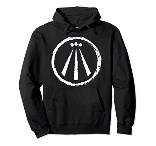 Awen Druid Pagan Celtic Wiccan Symbol Pullover Hoodie