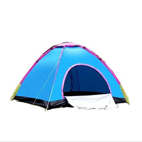 QAZ Buiten automatische campingtent Dubbele dubbele deur draagbare tent 2 seconden snelheid open facturatie campingtent