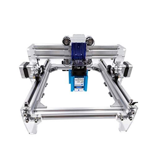 GNXTNX Máquina De Grabado Láser Pequeña De Bricolaje Máquina De Grabado Láser Portátil Cortadora Láser Automática Apto para GRBL,500mw
