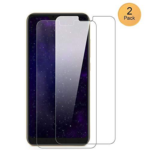XCYYOO [Pacco da 2] Pellicola Vetro Temperato Xiaomi Redmi 6 PRO/Mi A2 Lite [Copertura Completa], 9H Durezza Ultra Resistente Protettiva Proteggi Schermo (0.33mm HD Alta Trasparente)