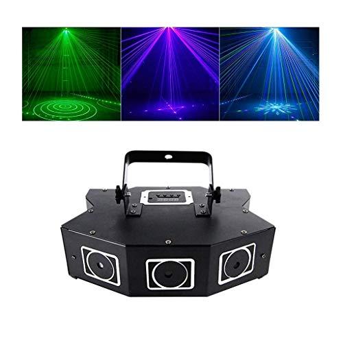Aocean Lámpara de iluminación para DJ RGB DMX Luz de Escenario para Discoteca KTV DJ Party Show Xmas Home Party Lights