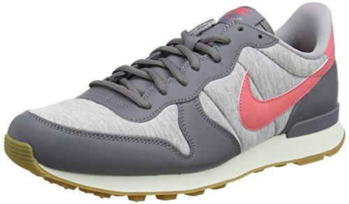 Nike Damen Internationalist Laufschuhe, Mehrfarbig (Gunsmoke/Sea Coral-A 020), 36.5 EU