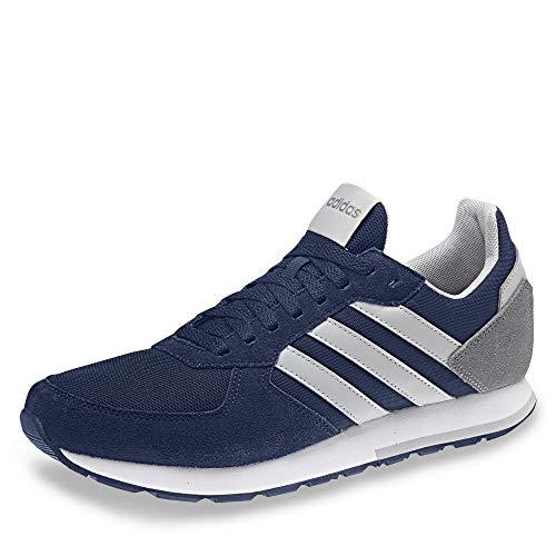 Adidas 8k, Zapatillas Hombre, Azul (Dark Blue/Grey Two F17/Grey Three F17 Dark Blue/Grey Two F17/Grey Three F17), 43 1/3 EU