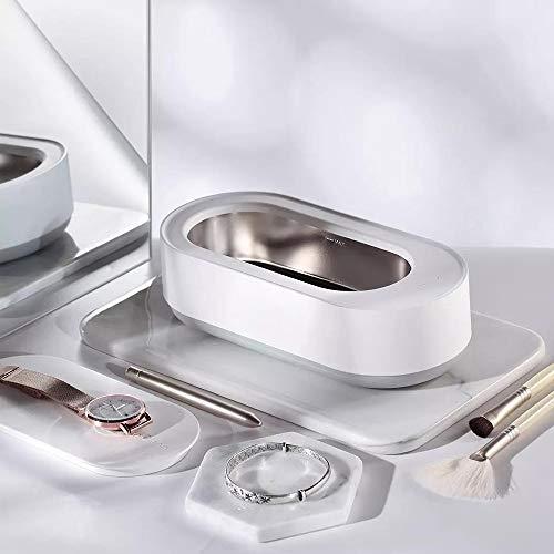 Limpiador Ultrasónico,para Mijia Máquina de Limpieza Automática,Temporizador de 3 Minutos,50-500μm-15W,para Limpiar Relojes, Joyas,Collar, Gafas,para Hombres y Mujeres
