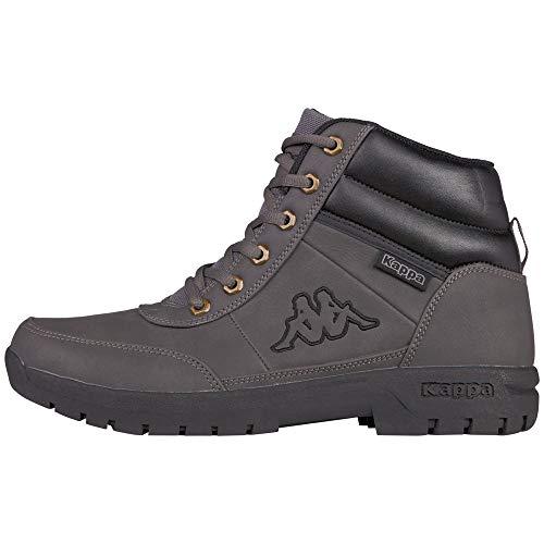 Kappa Unisex Bright Mid Light 242075-1616 Combat Boots, Grau (1616 Grey), 44 EU