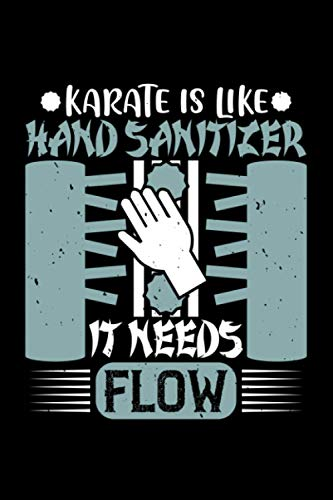 Karate Notizbuch karate is like hand...