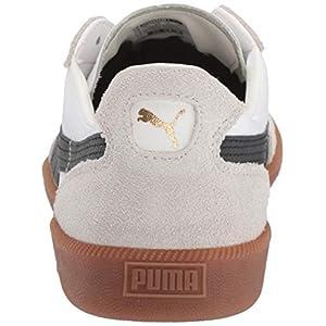 PUMA mens Super Liga Og Sneaker, Puma White-puma Black-puma Team Gold, 8 US