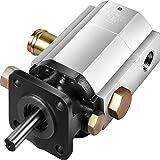 "Bestauto Hydraulic Wood Splitter Pump 3000 PSI 2 Stage Log Splitter Pump 13 GPM, Hydraulic Gear Pump 3600 RPM Aluminum Log Splitter Pumps 1/8"" Keyed Shaft for Gas Log Splitters/Hydraulic Power Units"