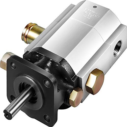 Bestauto Hydraulic Wood Splitter Pump 3000 PSI 2 Stage Log Splitter Pump 13 GPM, Hydraulic Gear Pump 3600 RPM Aluminum Log Splitter Pumps 1/8' Keyed Shaft for Gas Log Splitters/Hydraulic Power Units