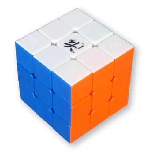 Dayan GuHong 3x3 Cube de vitesse 6-Couleur sans autocollant