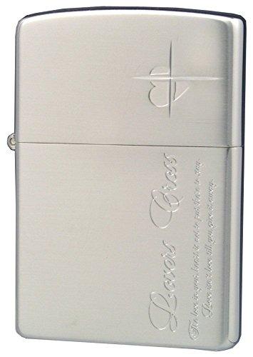 ZIPPO ジッポー オイルライター ラバーズクロス メッセージサイド シルバー 63050198