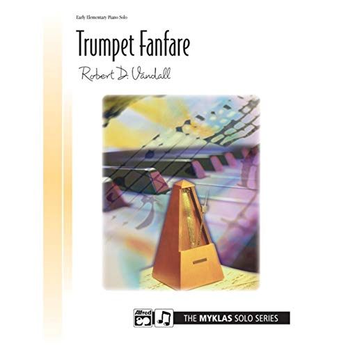 Trompete Fanfare-Blatt