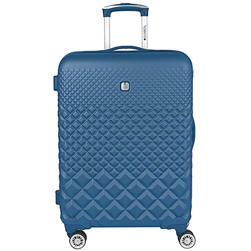 Gabol - Oporto | Maleta de Viaje Mediana Rigida de 47 x 67 x 25 cm con Capacidad para 62 L de Color Azul