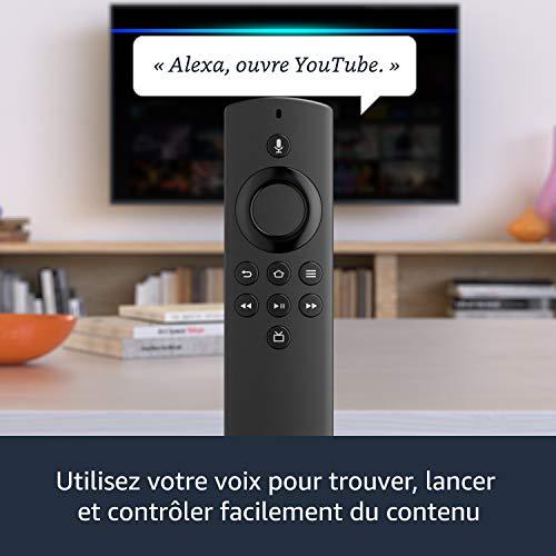 Fire TV Stick Lite avec télécommande vocale Alexa   Lite (sans boutons de contrôle de la TV), Streaming HD