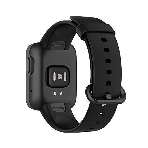 KINOEHOO Correas para relojes Compatible con Mi Watch Lite,with Redmi watch Pulseras de repuesto.Correas para relojesde siliCompatible cona.