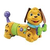 VTech - Maxou, mon chien filou - jouet chien - se déplace tout seul - animal interactif - Version FR