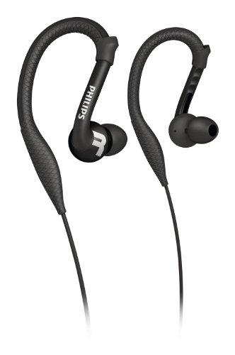 Philips ActionFit SHQ3200BK/28 - Kopfhörer (Im Ohr, Verkabelt, 15-22000 Hz, 102 dB, 1 m, Schwarz)