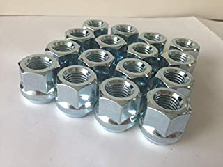 1.77 20pcs Chrome 14mm X 1.50 Wheel Lug Nuts fit 2005 Chevrolet Tahoe May Fit OEM Rims Buyer Needs to Review The spec Total Length