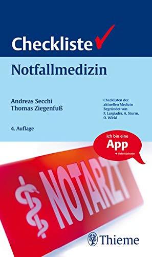 Checkliste Notfallmedizin (Checklisten Medizin)